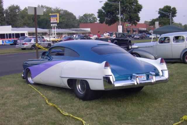 49 Cadillac custom license