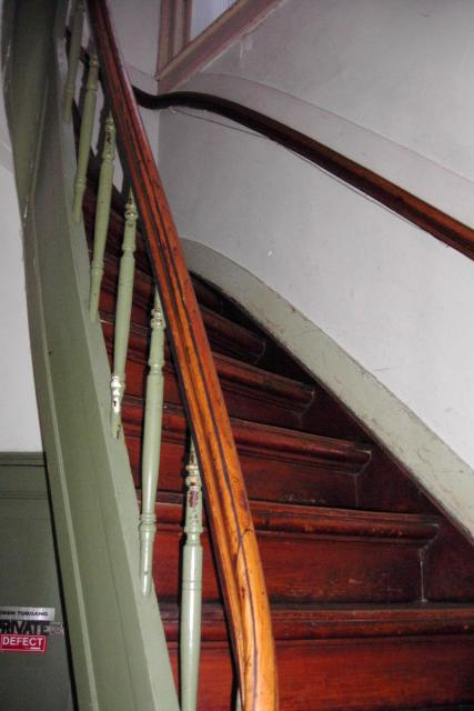 They sure build steep staircases in Amsterdam!